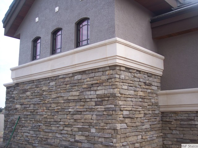 B and f stucco stucco stone decorative columns for Stucco columns